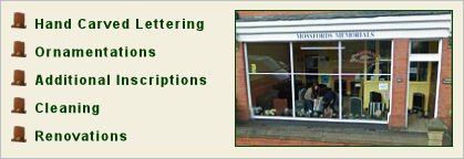 Mossfords Shop Front